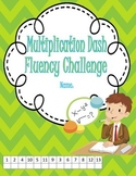 Multiplication Dash- Daily Fact Fluency to Motivate Students