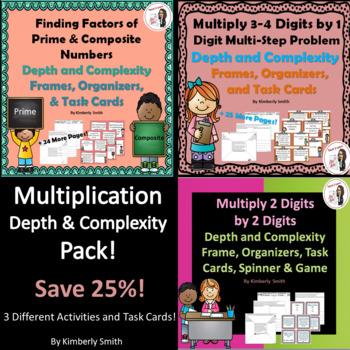 Multiplication Depth and Complexity Pack