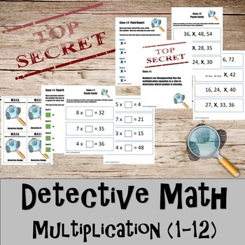Multiplication- Detective Math