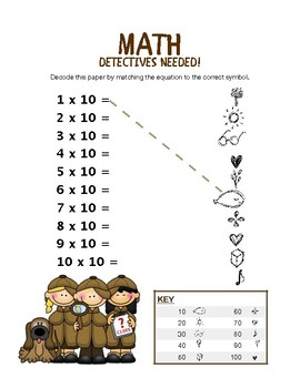 Multiplication Detectives