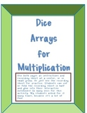 Multiplication Dice Arrays