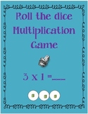 Multiplication Dice Game