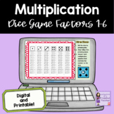 Multiplication Dice Games - Facts 1-6