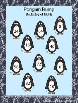 Multiplication Dice Games - Winter Theme