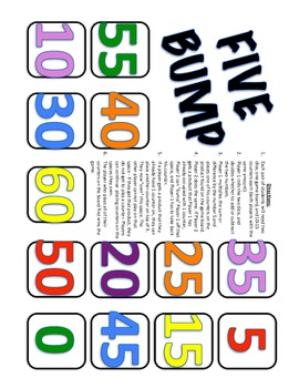 Multiplication Dice Games to Practice Times Tables from 2 through 9