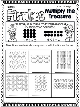 Multiplication Games - Differentiated Bundle 3.OA.1 3 Levels of Play