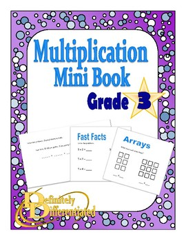 Multiplication - Differentiated Mini Books