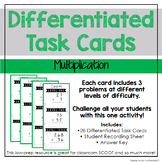 Multiplication Differentiated Task Cards