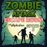 Multiplication Digital Escape Room Grades 5 Skills -- Dist