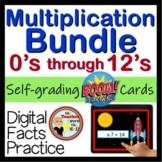 Boom Multiplication BUNDLE - Digital Task Cards (Facts 0-12) 5 Sets of 24 Cards!
