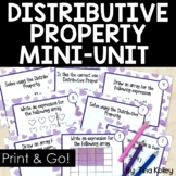 Distributive Property and Multiplication