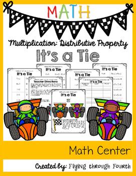 Multiplication: Distributive Property {It's A Tie Math Center}