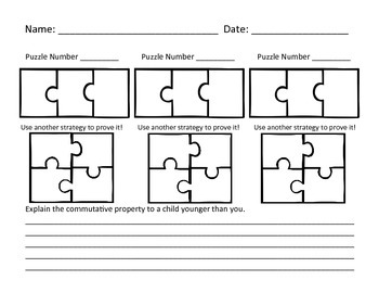 Multiplication & Division 11s Puzzle with Visual Model