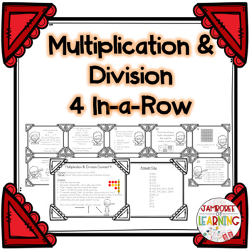 Multiplication & Division Connect 4