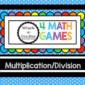 Multiplication Division 4 Math Games
