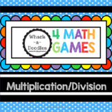 Multiplication Division 4 Math Games