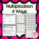 Multiplication & Division 4 Ways BUNDLE