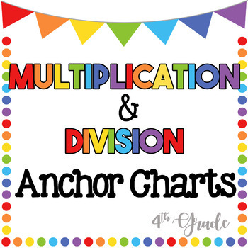 Multiplication & Division Anchor Chart
