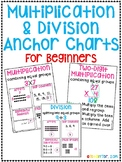 Multiplication & Division Anchor Charts