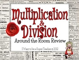 Multiplication & Division Around-the-Room Review Activity
