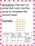 Multiplication & Division Arrays- Math Station Task Cards