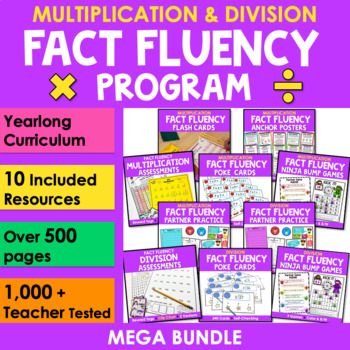 Mastering Multiplication & Division {Bundle}