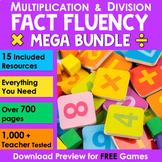 Multiplication & Division Fact Fluency {Bundle}