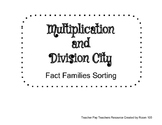 Multiplication Division City