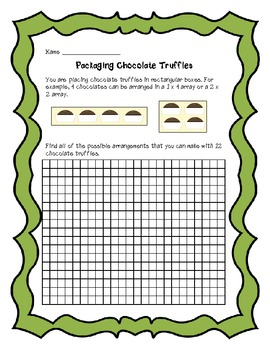 Multiplication & Division Common Core Performance Task Math Assessments