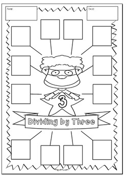 Multiplication & Division Cut and Paste Activities - 2 3 4 5 6 7 8 9 10 11 & 12