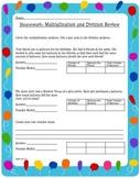 Multiplication Division Practice CC aligned