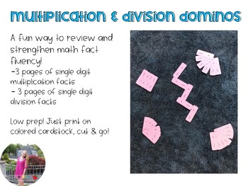 Multiplication & Division Dominos
