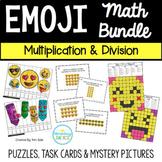 #SPRINGSAVINGS Emoji Multiplication & Division Math Bundle