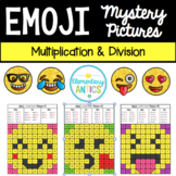 Multiplication & Division Emoji Mystery Pictures