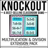 Multiplication & Division Extension | Math Game | KNOCKOUT | Distance Learning