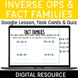 Multiplication & Division Fact Families Digital for Distan