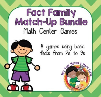 Fact Family Match (2s-9s)