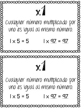 Multiplication & Division Fact Fluency Resource Packet {IN SPANISH!}