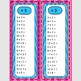 Multiplication/Division Fact Practice-Fluency Strips