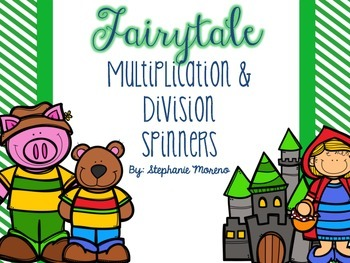 Multiplication & Division Fact Spinners {Relating}