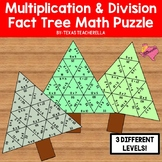 Multiplication & Division Fact Tree Math Puzzle