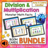 Multiplication & Division Facts Boom Cards Bundle