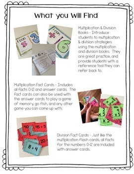Multiplication & Division Facts Toolkit