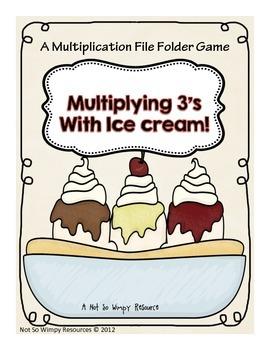 Multiplication & Division File Folder Games Bundled Set (2-12 X's)