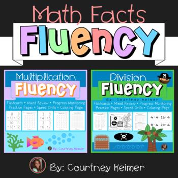 Multiplication & Division Fluency Reinforcement Bundle