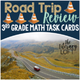 Multiplication, Division & Fraction Task Cards {Road Trip Theme}