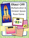 Multiplication Division Game Blast Off Space Race