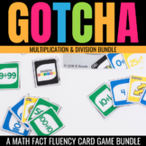 Multiplication & Division Gotcha: Math Fact Fluency Games for the Classroom