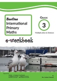Grade 3: Multiplication & Division workbook of 76 pages