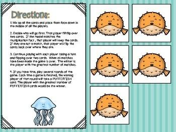Multiplication & Division Independent Center Game #2
